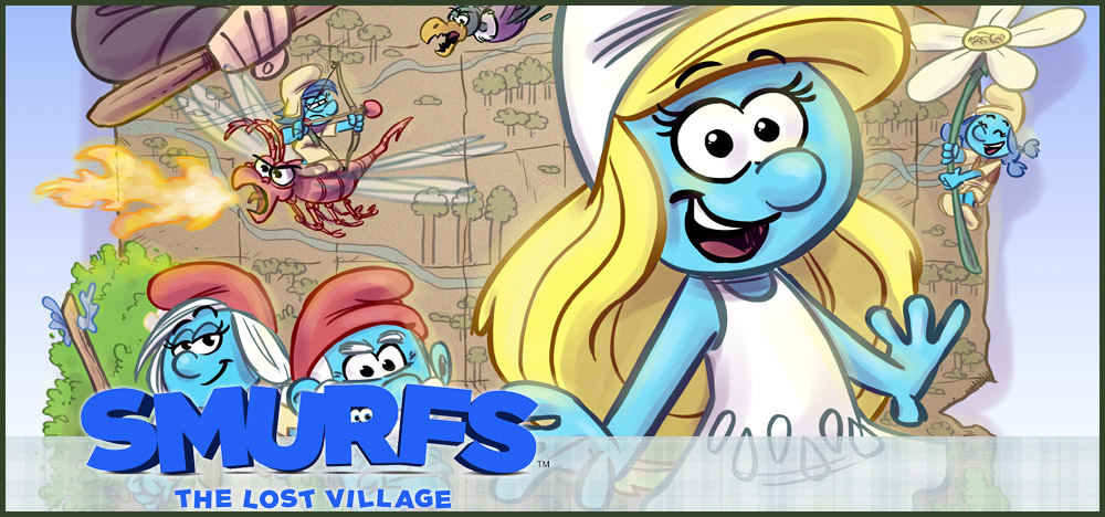 Smurfs: The Lost Village Storyboards